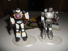 Takara Transformers G1 SCF PVC Act 6 lot Soundblaster, painted and pewter
