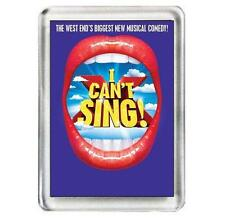 I Can't Sing. The Musical. Fridge Magnet.