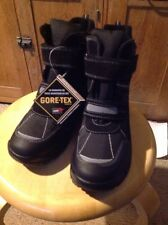NIB CLARK'S ICE TIME BOOTS, BLACK, Children's SIZE 13 Medium, US Sizing.