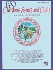 170 Christmas Songs and Carols by Alfred Publishing Staff (1998, Paperback)