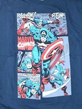 Captain America Officially Licensed Marvel Comics T-Shirt Graphic Tee Size Med