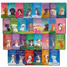 Holly Webb 30 Books Collection Set Puppy and Kitten Childrens Sophy Williams NEW