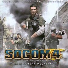 1 CENT 2CD SOCOM 4 - US Navy SEALS VIDEO GAME SOUNDTRACK/BEAR McCREARY