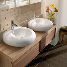 Villeroy & Boch PURE STONE Waschtisch 517061R1 Alpinweiß C+ 605x540 Wand/Aufsatz