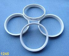 (1245) 4x  Zentrierringe 70,4 / 66,6 mm weiß für Alufelgen