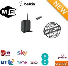 Belkin G Wireless DSL Router & G USB Adapter Bundle WiFi Access Point