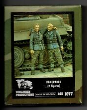 VERLINDEN 1077 - KAMERADEN (2 Figures) - 1/35 RESIN KIT NUOVO