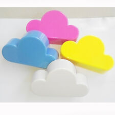 1PC Creative Cloud-shaped Magnetic Keychain Blue Cloud Novelty Wall Key Holder