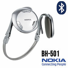 Genuine Nokia BH-501 Bluetooth Headset Headphones For Samsung Mobile Phones