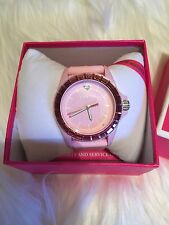 NWT Juicy Couture Pink Crystal Watch!