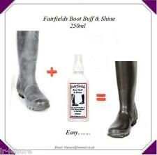 Wellington Hunters Riding Boot / Boot Buffer Cleaner Shiner  ALL Rubber Wellies