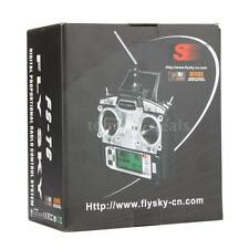 Flysky FS-T6 2.4G 6CH Mode 2 Transmitter W/Receiver R6-B for Quadcopter US S77O