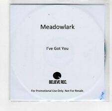 (GI317) Meadowlark, I've Got You - 2014 DJ CD