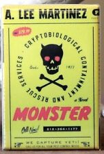 "Monster - 2"" X 3"" Fridge / Locker Magnet. A. Lee Martinez"