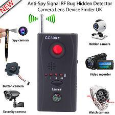 RF bug detector de Señal Anti-Espía Oculto Cámara Lente trazador de dispositivo GSM Buscador de Reino Unido