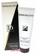 Derma Blend Leg And Body Cover (Ivory) 2.25 oz/64 g New In Box