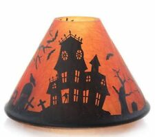 YANKEE CANDLE HAUNTED HOUSE JAR CANDLE SHADE NIB RETIRED VERY RARE