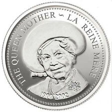 2002 Queen Mother Proof Silver Dollar (10649)