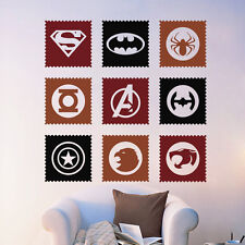 Sudoku Super Hero Symbol Vinyl Decal Sticker original logo  movie Home Decor