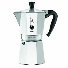 Bialetti 6801 Moka Express 9-Cup Stovetop Espresso Maker , New, Free Shipping