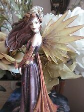 Jessica Galbreth AUTUMN SPLENDOR Fairy Figurine by Munro makers of Faerie Glen