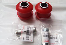 ST205 CELICA GT4 FRONT ARMS SUSPENSION POLYURETHANE BUSHES WITH CRASH TUBES -RED