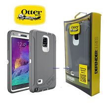 New!!! Otterbox Defender Case Cover For Samsung Galaxy Note 4 - Gray