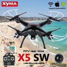 Neu Syma X5SW Drohne mit 2MP FPV/Live Übertragung HD Kamera RC Quadrocopter