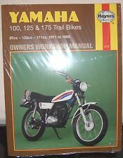 Haynes Manual YAMAHA LT AT AT1 AT2 AT3 CT  DT LT2 LT3 DT100 DT125 DT175  1971-85