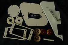LP Custom Pickguard Back Cover Speed Knob Jack Plate Pickup Switch Ring Cream A