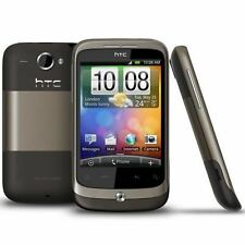 HTC WILDFIRE - Mocha Brown (Unlocked) Smartphone - Fully Working - Grade C
