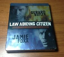 -NEW- Law Abiding Citizen Steelbook Blu Ray, Canadian, Unrated Director's Cut
