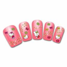 1 x Sheet of Hello Kitty Nail Art Small Stickers APPROX 30+Decals RANDOM DESIGNS