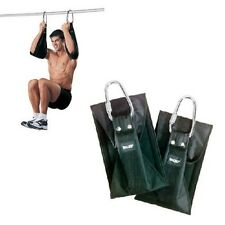 Valeo Fitness Deluxe Hanging Ab ABDOMINAL Gym Workout Straps