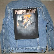 POWERWOLF preachers of the BACKPATCH / BACK PATCH / LARGE / HEAVY METAL BIKER