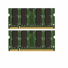 8GB (2x4GB) DDR2-800 SODIMM Laptop Memory PC2-6400 New!