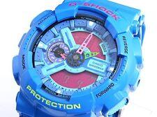 CASIO G-Shock GA110HC-2 GA-110HC-2 Hyper Colors Blue Ana-Digi XLarge