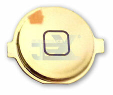 High Quality Mirror Chrome Lt Gold Home Button for iPhone 4S/4GS 16GB/32GB/64GB