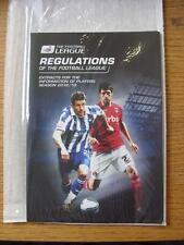 2012/2013 Liga de fútbol: las regulaciones de la Liga-extractos para la mantendremos informado