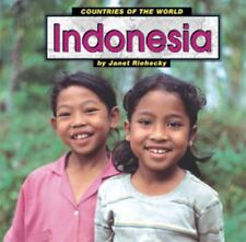 Indonesia (Countries of the World (Capstone))-ExLibrary