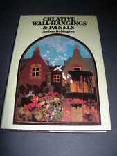 CREATIVE WALL HANGINGS & PANELS Babington HARDBACK BOOK Embroidery Design Sewing