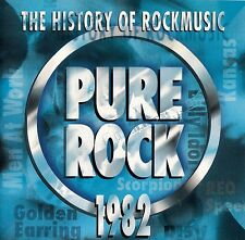 THE HISTORY OF ROCKMUSIC - PURE ROCK 1982 / CD - TOP-ZUSTAND