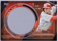 BILLY HAMILTON 2014 Topps Trajectory Jumbo Game Jersey Swatch Relic /99 Card