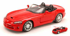 Dodge Viper SRT-10 2003 Red 1:24 Model MAISTO