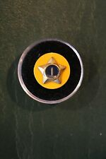 "BOY CUB SCOUT ""1 YEAR SERVICE"" RECOGNITION AWARD PIN  w/Yellow Backing) - BSA"