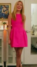 ZARA HOT PINK Fuchsia TULIP DRESS Medium M