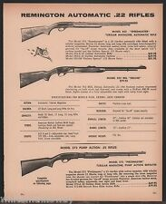 1972 REMINGTON Model 552 Speedmaster, 552 BDL Deluxe, 572 Fieldmaster Rifle AD