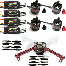F450 4-Axis Multi-copter Quadcopter Frame Kit 2213 930KV motor 30A ESC Propeller