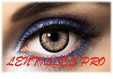 lentilles de couleur  big eyes 15Mn marron 1 ans utilisation   contact lenses