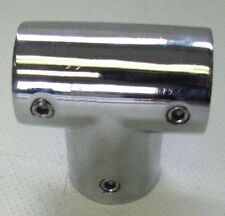 "296090 Sea-Dog Line 90° Rail Tee Zinc Chrome Plated 7/8"" Tube OD 132-2028"